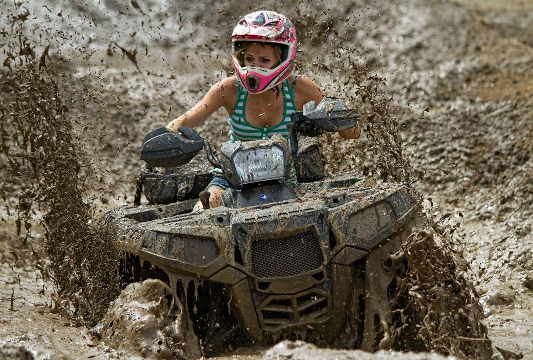 quad boue